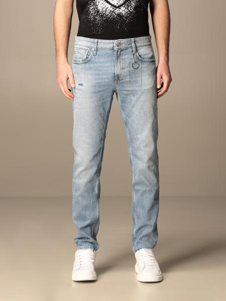 Department Five: Skeith Department Five jeans in used stretch denim