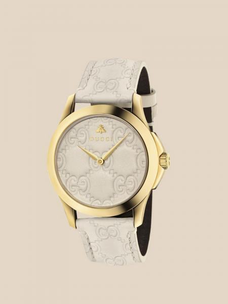 Orologio Gucci con logo impresso all over