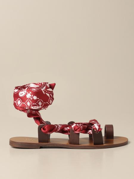 Gipsy Rose: Sandalo Gipsy Rose a foulard