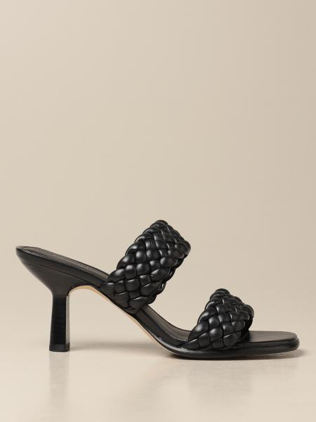 Amelia Michael Michael Kors mules in woven synthetic leather