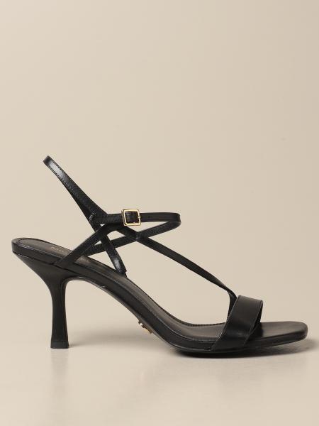 Michael Kors women: Tasha Michael Michael Kors leather sandals