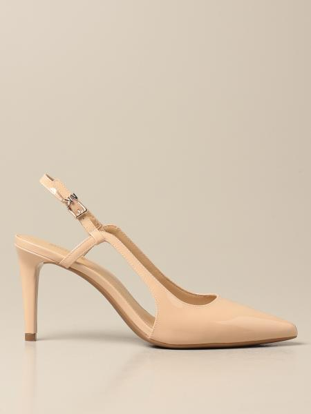 Vanessa Michael Michael Kors patent leather slingbacks