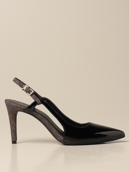 Michael Kors women: Vanessa Michael Michael Kors patent leather slingbacks