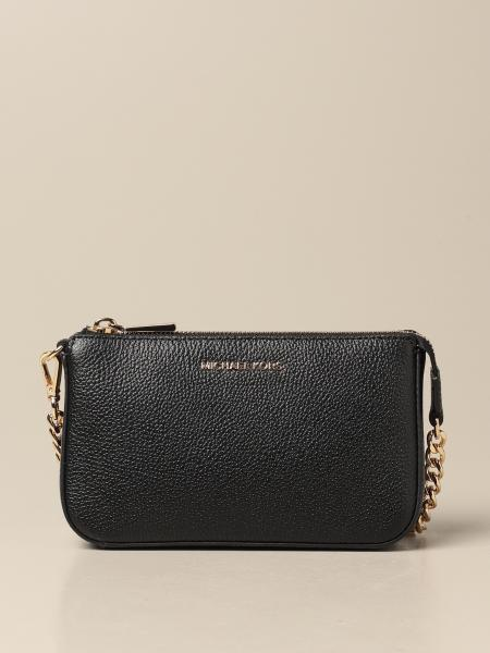 Michael Kors women: Michael Michael Kors chain clutch in hammered leather