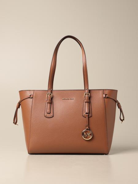 Michael Kors women: Voyager Michael Michael Kors bag in grained leather