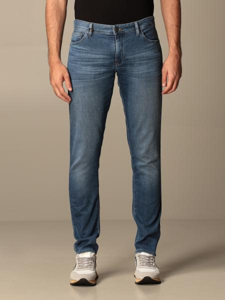 Denim used skinny stretch