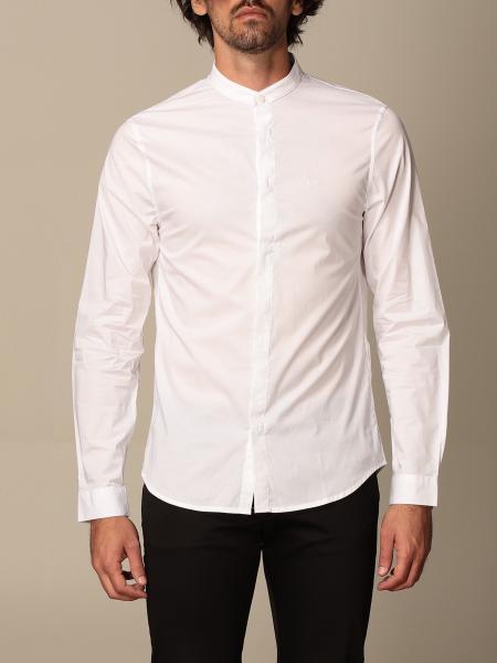 Armani Exchange shirt in stretch cotton