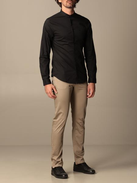 Armani Exchange shirt in stretch cotton