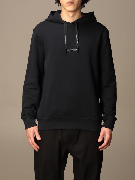 Armani Exchange cotton sweatshirt with logo