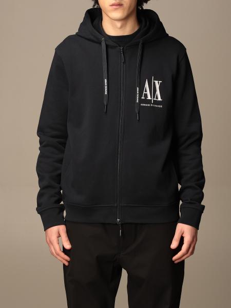 Armani Exchange cotton hoodie