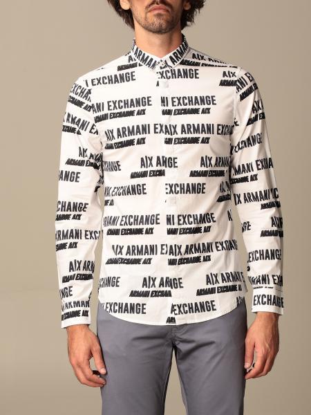 Hemd herren Armani Exchange