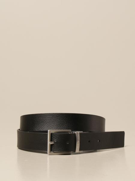 Cintura Armani Exchange in pelle reversibile