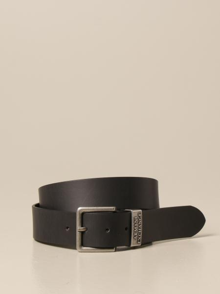 Cintura Armani Exchange in pelle
