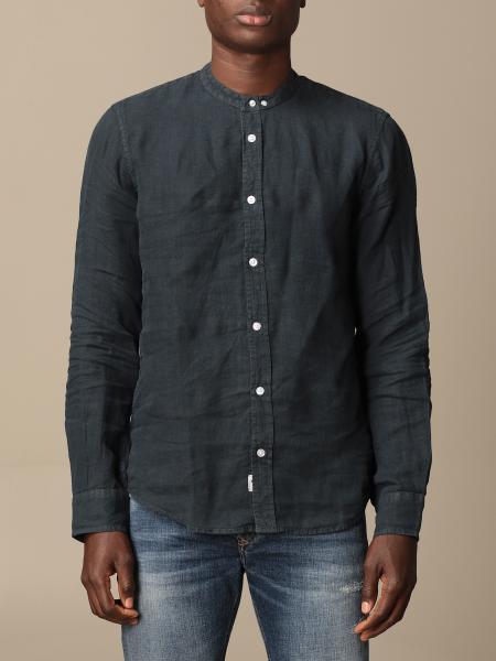 Blauer linen shirt
