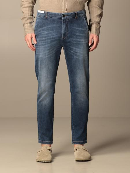 Jeans Pt05 in denim con tasche america superslim