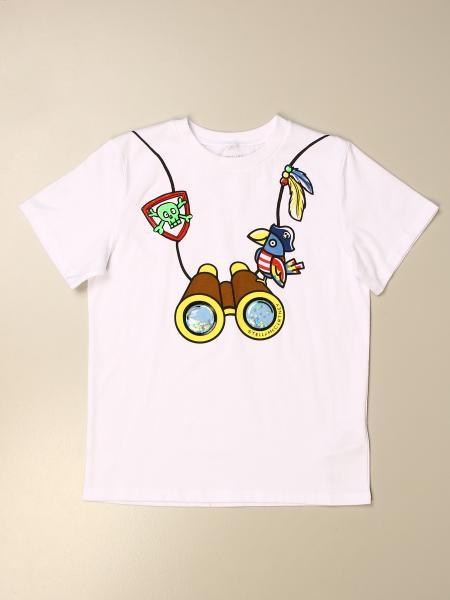 T-shirt Stella McCartney con stampa binocolo