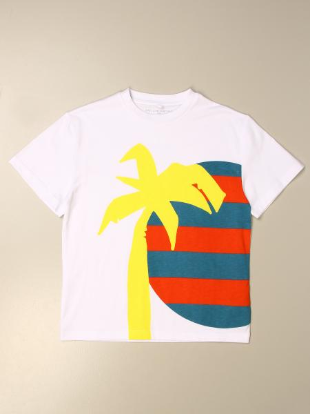 Stella McCartney T-shirt with palm print