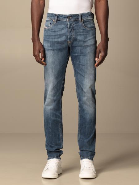 Diesel men: Sleenker-x Diesel 5-pocket skinny stretch jeans