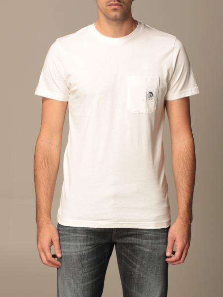 Diesel cotton t-shirt with small logo