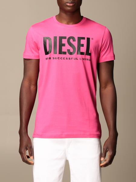 Diesel cotton t-shirt with logo