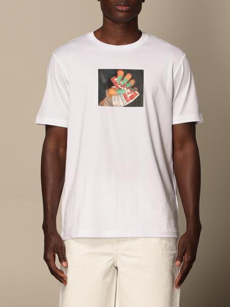 Diesel men: Diesel t-shirt in cotton with print