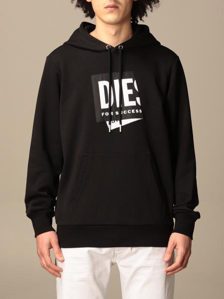 Diesel men: Diesel hoodie with logo