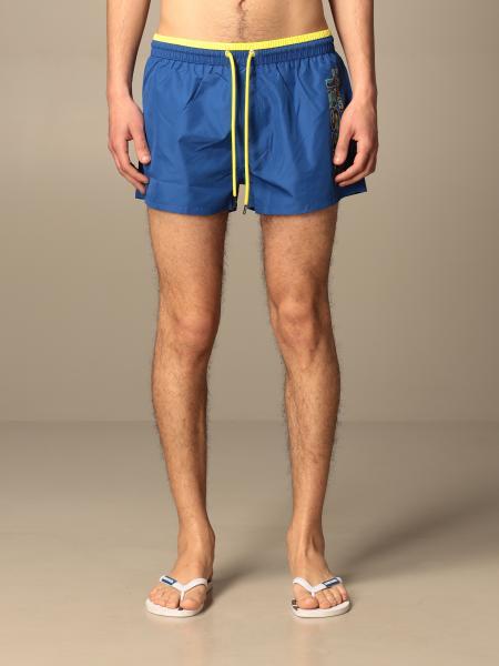 Diesel Beachwear boxer swimsuit in nylon with logo