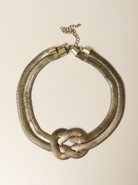 Collana Nodo snake Allu' jewels in bronzo