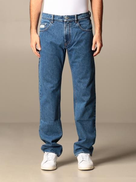 Gcds men: Gcds straight denim jeans