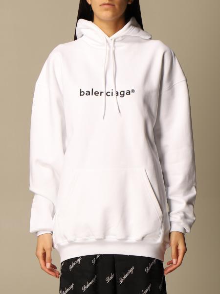 Balenciaga: Balenciaga cotton sweatshirt with logo