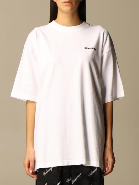 Balenciaga: Balenciaga over t-shirt with mini BBalenciaga logo