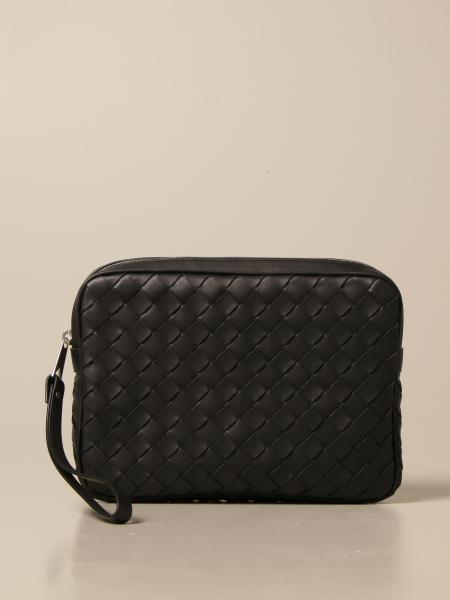 Bottega veneta document holder in Intrecciato leather