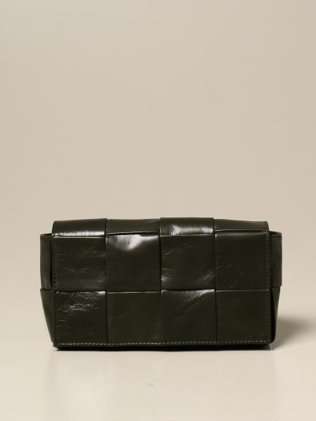 Bottega Veneta Cassette belt bag in woven leather