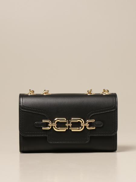 Elisabetta Franchi women: Elisabetta Franchi bag in synthetic leather with logo