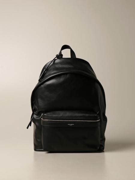 City Saint Laurent backpack in leather with logo