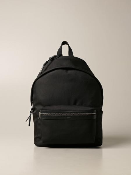 City Saint Laurent backpack in nylon canvas