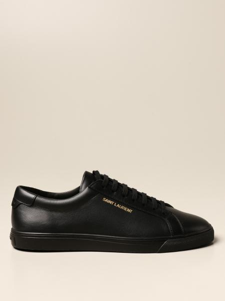 Saint Laurent: Andy low top Saint Laurent sneakers in leather