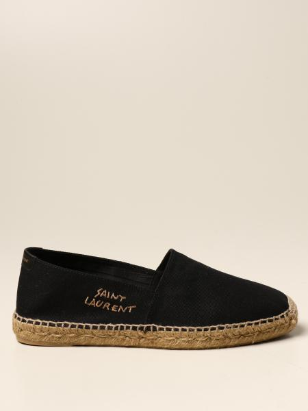 Saint Laurent espadrilles in canvas with logo
