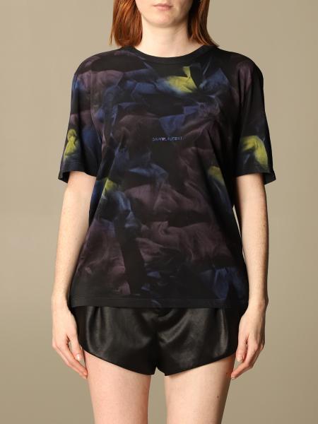 Saint Laurent women: T-shirt women Saint Laurent