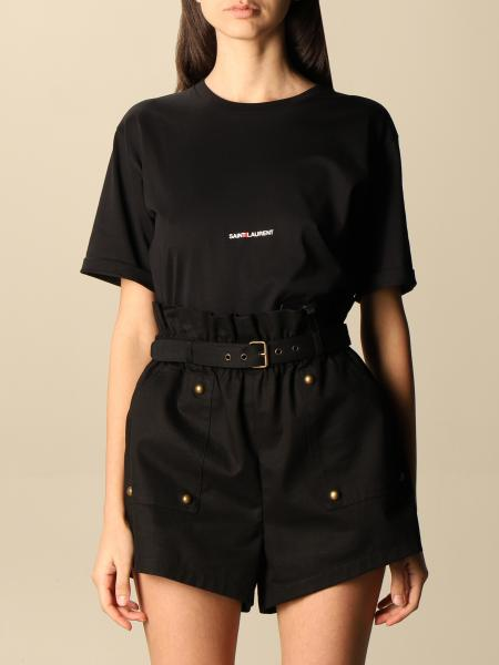 Saint Laurent femme: T-shirt femme Saint Laurent