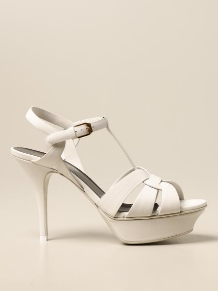 Saint Laurent: Tribute Saint Laurent leather sandal