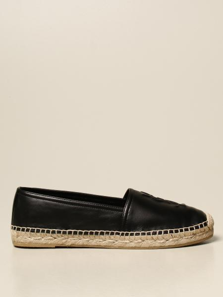 Saint Laurent espadrilles in nappa with embossed logo