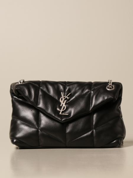 Saint Laurent women: Loulou Saint Laurent bag in quilted leather