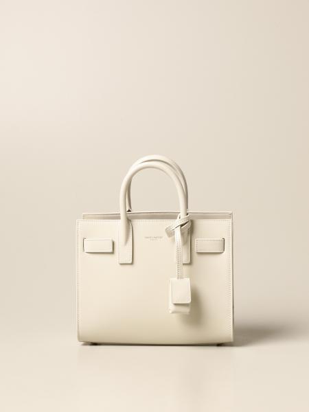 Saint Laurent: Jolie Saint Laurent nano Sac De Jour bag in leather