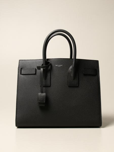 Saint Laurent: Classic Sac de jour small Saint Laurent bag in grain de poudre leather
