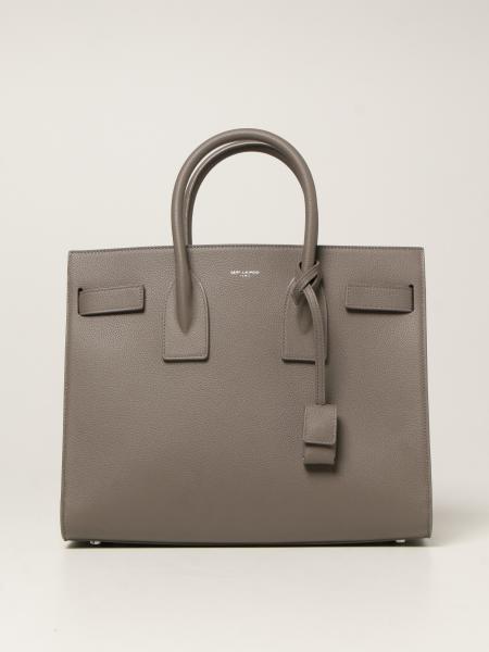Saint Laurent women: Classic Sac de jour small Saint Laurent bag in grain de poudre leather
