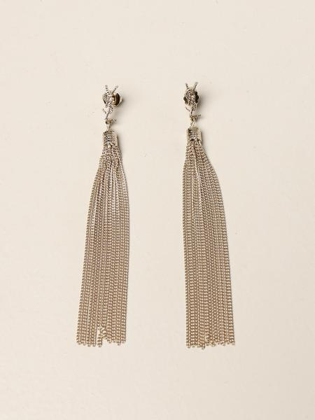 Saint Laurent: Loulou YSL Saint Laurent fringe earrings