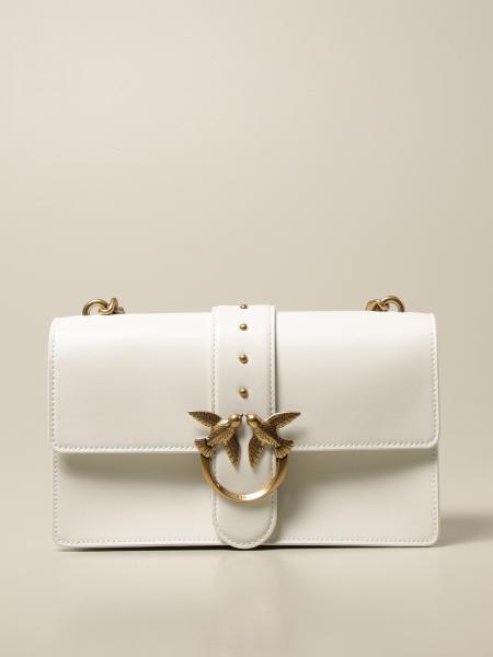 Pinko women: Love Icon Simply Pinko leather bag