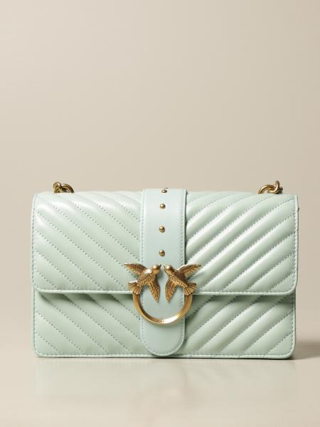 Love Classic Icon V Quilt Pinko bag in quilted nappa