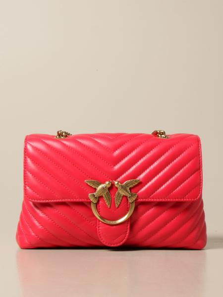 Pinko women: Love Lady Puff Pinko bag in matelassé nappa